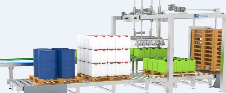 Automatic De-Palletizers