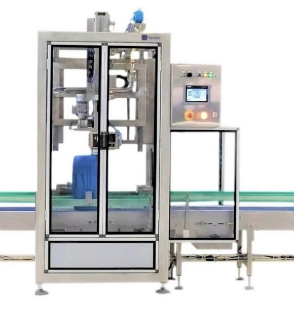 AUTOMATIC FILLING MACHINE FOR JERRYCANS
